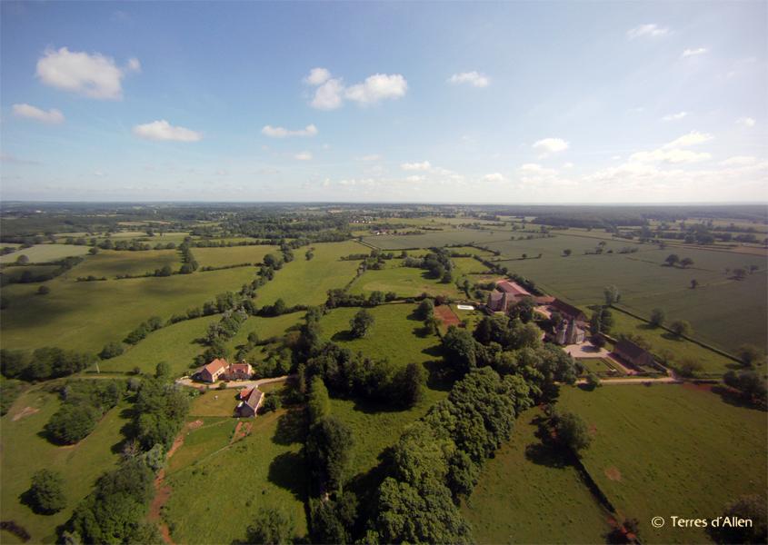 Terres d'Allen - Photographie et vidéo aériennes - Paysage